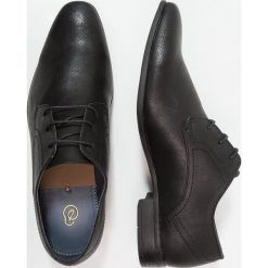 Buty wizytowe męskie: Burton Menswear London REES DERBY Eleganckie buty black