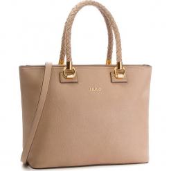 Torebka LIU JO - L Tote Manhattan A68094 E0011  71316. Czarne torebki klasyczne damskie marki Liu Jo, z materiału. Za 689,00 zł.