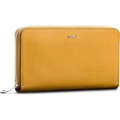 Duży Portfel Damski FURLA - Babylon 978990 P PS52 B30 Ginestra e. Żółte portfele damskie Furla, ze skóry. W wyprzedaży za 469,00 zł.