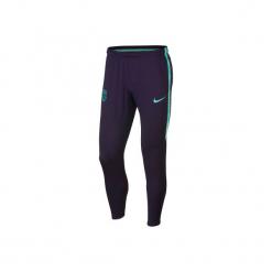 Spodnie treningowe do piłki nożnej FC Barcelona. Czarne spodnie sportowe damskie marki Nike, s, do piłki nożnej. Za 199,99 zł.