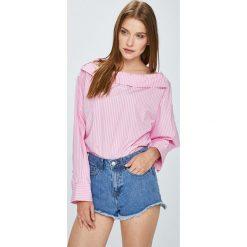 Miss Sixty - Bluzka. Szare bluzki z odkrytymi ramionami Miss Sixty, l, z bawełny. W wyprzedaży za 299,90 zł.