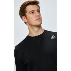 Reebok - Bluza. Szare bluzy męskie rozpinane Reebok, l, z bawełny, bez kaptura. Za 169,90 zł.