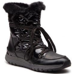 Śniegowce MARCO TOZZI - 2-26831-21 Black Ant.Comb 096. Czarne buty zimowe damskie Marco Tozzi, ze skóry ekologicznej. Za 269,90 zł.