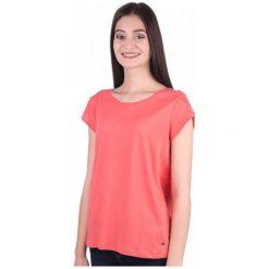 Mustang T-Shirt Damski S Czerwony. Niebieskie t-shirty damskie marki Mustang, z aplikacjami, z bawełny. W wyprzedaży za 55,00 zł.