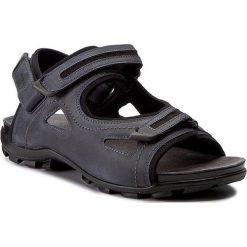 Sandały WOJAS - 7300-56 Granat/Czarny. Niebieskie sandały męskie skórzane Wojas. W wyprzedaży za 219,00 zł.