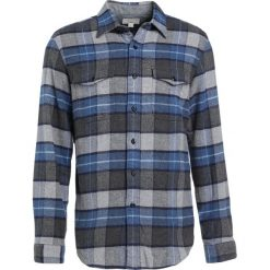 Koszule męskie na spinki: J.CREW HEAVYWEIGHT FLANNEL VISALIA PLAID Koszula grey