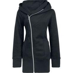 Bluzy rozpinane damskie: Forplay Zip Case Bluza z kapturem rozpinana damska czarny