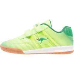 KangaROOS CHELO COURT V Tenisówki i Trampki lime/ultramarine green. Fioletowe trampki chłopięce marki KangaROOS, z gumy. Za 129,00 zł.