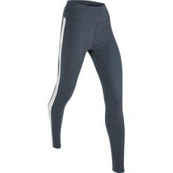 Legginsy sportowe, długie bonprix kobaltowy melanż. Niebieskie legginsy sportowe damskie marki bonprix, z nadrukiem. Za 44,99 zł.