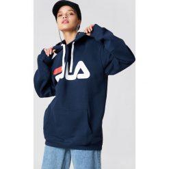 Bluzy damskie: FILA Bluza z kapturem Classic Logo – Navy