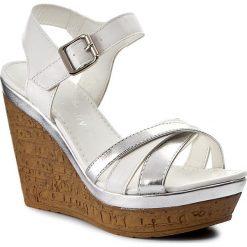 Sandały damskie: Sandały JENNY FAIRY - WS1780A-1 Biały Srebrny