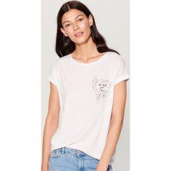 Kimonowa koszulka - Biały. Białe t-shirty damskie marki Adidas, xs. Za 49,99 zł.
