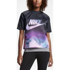 Koszulka Nike Wmns NSW AOP Top (836214-010). Czarne bluzki damskie marki Alpha Industries, z materiału. Za 89,99 zł.