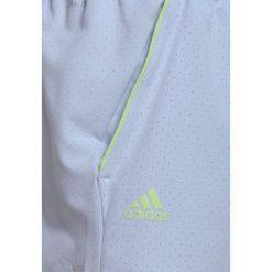 Adidas Performance SHORT Krótkie spodenki sportowe blutin. Niebieskie spodenki chłopięce adidas Performance, z elastanu, sportowe. Za 159,00 zł.