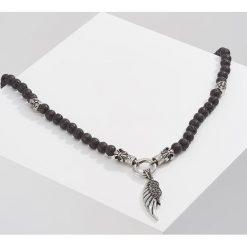 Naszyjniki męskie: Royal Ego LAVABEAD WING Naszyjnik black/silvercoloured