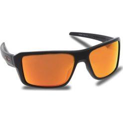 Okulary przeciwsłoneczne OAKLEY - Double Edge OO9380-0566 Matte Black/Prizm Ruby Polarized. Czarne okulary przeciwsłoneczne męskie aviatory Oakley, z tworzywa sztucznego. W wyprzedaży za 679,00 zł.