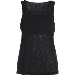 Puma LAYER TANK 2IN1 Koszulka sportowa black. Czarne t-shirty damskie Puma, xs, z materiału. Za 169,00 zł.