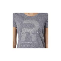 T-shirty z krótkim rękawem Reebok Sport  Koszulka Running Reflective Graphic. Czarne bluzki sportowe damskie Reebok Sport, l, z krótkim rękawem. Za 159,00 zł.
