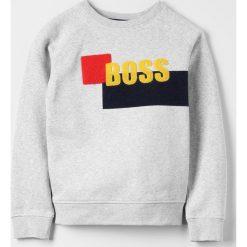 Bluzy chłopięce rozpinane: BOSS Kidswear Bluza hell graumeliert