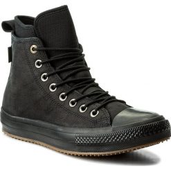 Trampki męskie: Trampki CONVERSE – Ctas Wp Boot Hi 157460C Black/Black/Gum