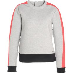 Bluzy damskie: Under Armour LUSTER LONG SLEEVE CREW Bluza air force gray heather