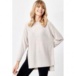 Kaszmirowy sweter w kolorze beżowym. Brązowe swetry klasyczne damskie Manode, s, z kaszmiru. W wyprzedaży za 434,95 zł.