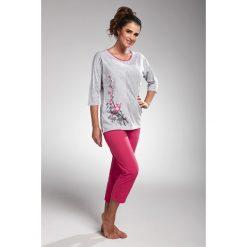 Piżama damska Cherry. Czerwone piżamy damskie Astratex, z aplikacjami, z bawełny. Za 97,64 zł.