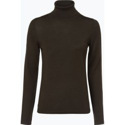 Brookshire - Sweter damski z domieszką wełny merino, zielony. Czarne swetry klasyczne damskie marki brookshire, m, w paski, z dżerseju. Za 179,95 zł.