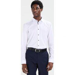 Koszule męskie na spinki: Eterna SUPER SLIM FIT Koszula biznesowa weiss