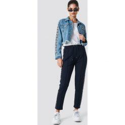 Spodnie damskie: Minimum Spodnie Titta - Blue,Navy