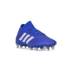 Buty do piłki nożnej adidas  NEMEZIZ 18.1 SG. Niebieskie halówki męskie Adidas, do piłki nożnej. Za 904,75 zł.