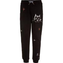 Scotch Shrunk FELIX PANT Spodnie treningowe black. Niebieskie spodnie chłopięce marki Scotch Shrunk, z bawełny. Za 299,00 zł.