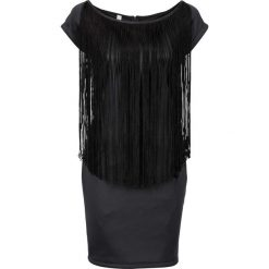 Sukienki hiszpanki: Sukienka na party bonprix czarny
