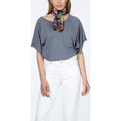 """T-shirty damskie: Koszulka """"Gipsy"""" w kolorze szaroniebieskim"""