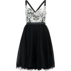 Sukienki hiszpanki: Chi Chi London Petite MILOU Sukienka koktajlowa black/cream
