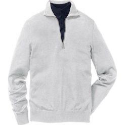 Swetry męskie: Sweter Regular Fit bonprix jasnoszary melanż