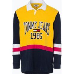 Tommy Jeans - Męska bluza nierozpinana, żółty. Żółte bejsbolówki męskie Tommy Jeans, l, z napisami, z jeansu. Za 449,95 zł.