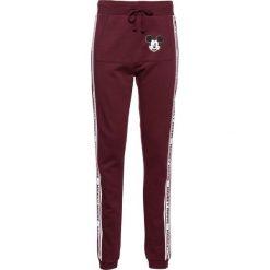 """Spodnie dresowe damskie: Spodnie dresowe """"Myszka Miki"""" bonprix czerwony klonowy"""