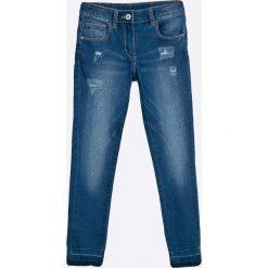 Blukids - Jeansy dziecięce 134-164 cm. Niebieskie jeansy dziewczęce Blukids, z bawełny. W wyprzedaży za 59,90 zł.