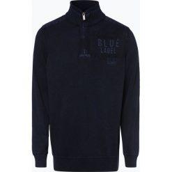 Camp David - Sweter męski, niebieski. Niebieskie swetry klasyczne męskie Camp David, l, z haftami. Za 499,95 zł.