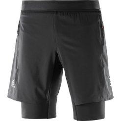 Salomon Spodenki męskie FAST WING TWINSKIN SHORT M Black r. XL. Czarne spodenki sportowe męskie Salomon, sportowe. Za 237,90 zł.