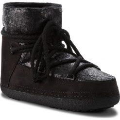 Buty INUIKII - Boot 70101-9 Sequin Black. Czarne buty zimowe damskie Inuikii, z materiału. Za 1409,00 zł.