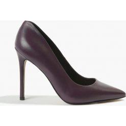 Czółenka fioletowe. Fioletowe buty ślubne damskie Badura. Za 299,99 zł.