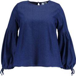 Bluzki asymetryczne: Lost Ink Plus Bluzka blue
