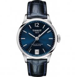 PROMOCJA ZEGAREK TISSOT T-Classic T099.207.16.047.00. Niebieskie zegarki męskie TISSOT, ze stali. W wyprzedaży za 2816,00 zł.
