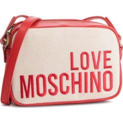 Torebka LOVE MOSCHINO - JC4153PP17LO0107 Naturale. Brązowe listonoszki damskie Love Moschino, z materiału. Za 589,00 zł.