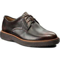 Półbuty CLARKS - Modur Walk 261271147 Dark Tan Leather. Brązowe buty wizytowe męskie marki Clarks, z materiału. W wyprzedaży za 259,00 zł.