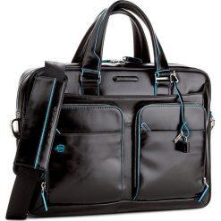 Torba na laptopa PIQUADRO - CA2849B2/N Czarny. Czarne plecaki męskie marki Piquadro, ze skóry. W wyprzedaży za 1249,00 zł.