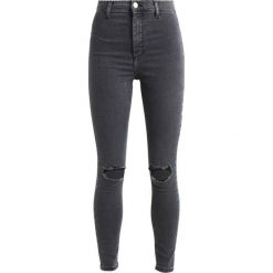 Topshop JONI NEW Jeans Skinny Fit washed black. Czarne boyfriendy damskie Topshop. Za 219,00 zł.