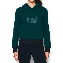 Bluzy sportowe damskie: Under Armour Bluza damska Threadborne Fleece BL Hoodie zielona r. M (1298592-919)